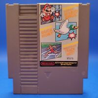 Super Mario Bros. / Duck Hunt Nintendo Nes Cleaned & Tested Authentic
