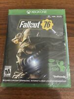 Xbox One Fallout 76 Exclusive Atomic Shop 500 - New In Package