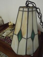 Tiffany Style Stained Glass Lamp Shade  vintage