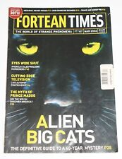 Fortean Times Magazine #167 Mar 2003 - Alien Big Cats, Sleepwalking Murder, Ufo