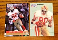 1991 Pro Set Jerry Rice #11 and #379 - 49ers NM