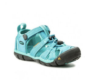 Keen Seacamp II CNX-C Sandals Washable Water Shoes Blue Size 10 Toddler
