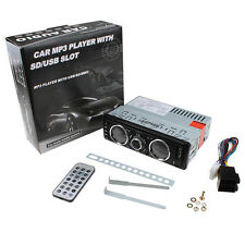 Car Audio Radio Stereo Media MP3 Player AM FM Aux Input Receiver with SD USB