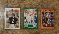 (3) Doug Flutie 1987 Topps 1989 Score Pro Set Rookie Card Lot RC Bills
