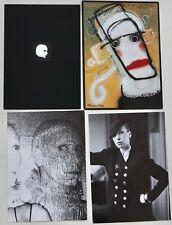 Popy Moreni 90s vintage Paris catwalk fashion show invitations Mattia Moreni
