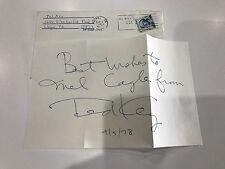"Ted Key Signed ""Hazel"" Cartoon 1978 Autograph Letter"