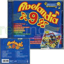 """CRISTINA D'AVENA """"FIVELANDIA 9"""" CD 2006 FUORI CATALOGO"""