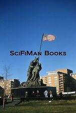 KODACHROME Red Border Slide Washington D.C. Marine Corps War Memorial 1950s!!!