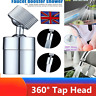 Kitchen Sink Mixer Taps 360°Swivel Spout Tap Head UK