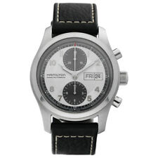 Hamilton H715660 Khaki Field Chronograph 42mm Leather Automatic Men's Watch
