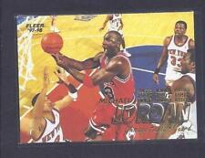 Fleer Single-Insert Basketball Trading Cards 1997-98 Season