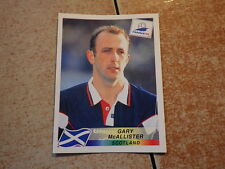 FOOTBALL PANINI STICKER FRANCE 98 WORLD CUP DANONE / Gary McAllister (42)