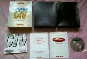 SID MEIER'S CIVILIZATION 1 - 1993 CIV PC GAME - RARE BIG BOX EDITION - COMPLETE