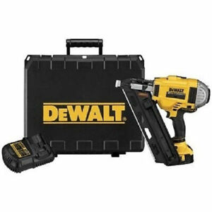 DEWALT 20V MAX Brushless Cordless Li-Ion Framing Nailer Kit DCN692M1 Recondition