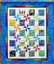 #423 Magic Wheel Quilt Pattern