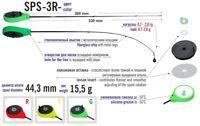 Diam: 4 mm//Weight: 1.05 gr TEARDROP BRIGHT UV GLOW TUNGSTEN ICE JIG eyelet