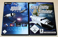 APOLLO SIMULATOR & SPACE SHUTTLE SIMULATOR - PC - NEUWERTIG