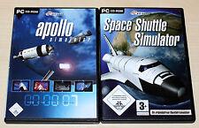 Apollo simulador & Space Shuttle simulador-pc-como nuevo