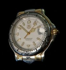TAG Heuer 6000 Men's Stainless /18K Gold Watch WH1151-K1 XLNT Cond. **NO BAND**