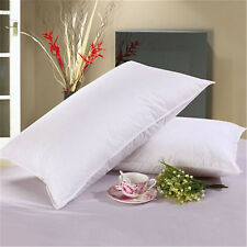High-grade Down Bed Pillow Goose Feather and Down Pillow Standard Size 45*75cHU