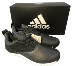 adidas mens adicross Bounce 2.0 Trainers Black Leather Golf Shoes BRAND NEW Sz 9
