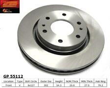 Disc Brake Rotor fits 2008-2009 Saab 9-7x  BEST BRAKES USA