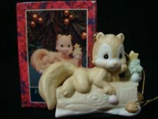 Precious Moments Ornament-I'm Nuts About You-Squirrel-Limited Edition 1992