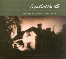 Agatha Christie - The Murder of Roger Ackroyd (3xCD A/B 2003) Poirot; FREE P&P