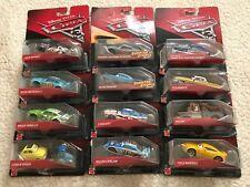 Disney Pixar Cars, Die-Case Figure Lot Of 12 Cara NIB