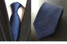 """Hot 3.1"""" X 57"""" Classic Men's Ties Silk Necktie Wedding Solid Blue Neck Tie KT97"""