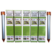 Enviro Bug Control - Battery Powered Snake Repeller - Small Acreage - 10 Pack