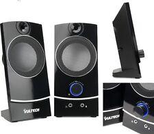 CASSE AUDIO PC COMPUTER USB NOTEBOOK ALTOPARLANTI STEREO IPOD MP3 MP4 DESKTOP