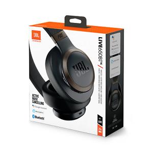 JBL LIVE 650BTNC Wireless Over-ear Noise-cancelling Headphones, Black