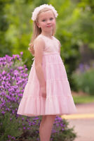 NWT Isobella and Chloe Spring 2018 Pink Sequin Bodice Easter Dress Size 5 6 8 10