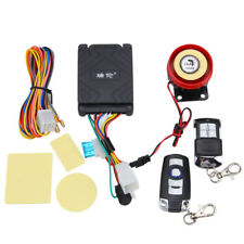 Motorcycle Motorbike Alarm System Immobiliser Remote Control Security Anti-theft