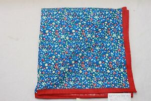 Strong Suit Clothing Blue Vines Pocket Square $49.50