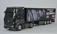 Tamiya 1-14 RC Mercedes Benz Actros 1851 Gigaspace Edition noire 300056342