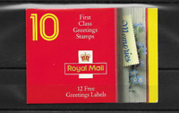 GB 1992 Greetings Stamps Booklet - KX 4