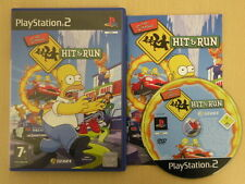 Sony Playstation 2 Game * THE SIMPSONS HIT AND RUN * PS2 Complete Retro PS21593