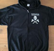 IRON MAIDEN Eddie Axe Zip Sweat Shirt Size XL -New- Official merchandising