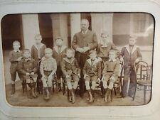 Ancienne photo d'école, de classe - Lycée de Moulins 1909 1910 - Alliers