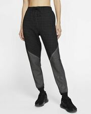 Women's Nike Tech Pack City Ready Sportswear Fleece Pants CI9436-011 Black White