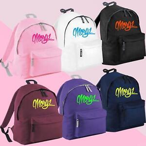 Morgz Merch Kids Backpacks Youtuber Vlogger Printed Rucksack Boys And Girls Bags