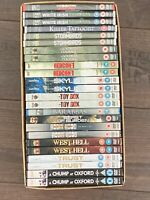 24 DVD JOB LOT, EXCELLENT TITLES, NEW / SEALED. ACTION, COMEDY, WAR, HORROR.