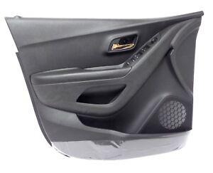 LH Driver Side Interior Door Panel Jet Black 2015 Buick Encore