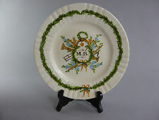 TILE PLATE DISH MASONIC MB ONLY FOR DECORATION FREEMASONRY ASSIETTE FRANC MACON