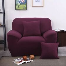 US Stock Stretch Chair Sofa Covers 1 Seater Protector Couch Cover Slipcover