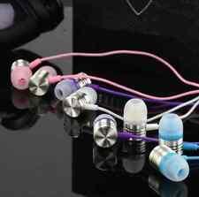 New Purple In-Ear Earbud Earphone Headset Headphone For Samsung iPhone iPod MP3