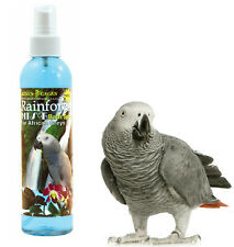 240ML KINGS CAGES AFRICAN GREY & AMAZON RAINFOREST MIST SCENTED BATH PLUME SPRAY
