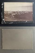 Suisse, panorama de Berne Vintage albumen print CDV.  Tirage albuminé  6,5x1